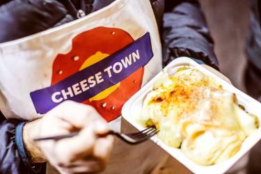 Cheese Town is taking over Flat Iron Square for Easter weekend