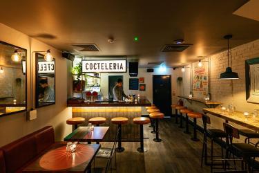 Breddos revamp their Soho basement to create their new taco and margarita bar
