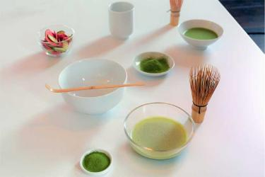 London has two new matcha bars - on Tottenham Court Road and in Chelsea