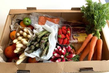Test Driving Le Marche des Chefs hampers - Hot Dinners At Home