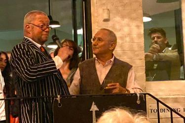 St John restaurant celebrates its 25th anniversary and new book with an epic party