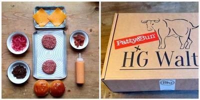 Patty & Bun are selling Ari Gold and Smokey Robinson burger kits at HG Walter