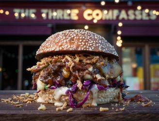 Filthy Buns are bringing their burgers to Dalston's Three Compasses