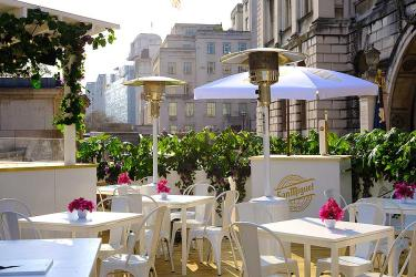 Somerset House gets a taste of Spain with their summer San Miguel terrace
