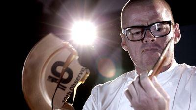 Heston Blumenthal wins Chef of the Decade at 10th Observer Food Monthly Awards 2013