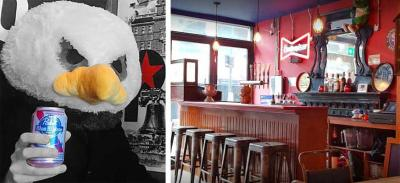 The strange story of London restaurant Passyunk Avenue's mascot theft