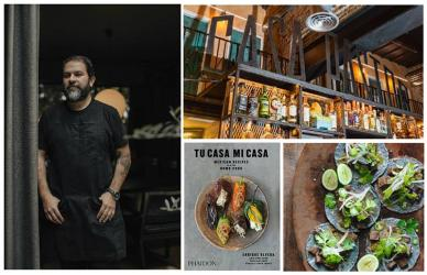 Top Mexican chef Enrique Olvera is coming to London for a cookbook tour