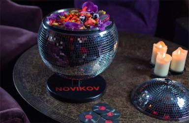 Novikov launches huge disco ball cocktail