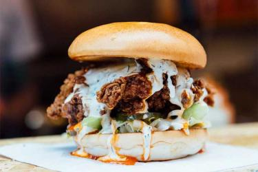 Other Side Fried are opening a takeaway chicken kiosk at Leicester Square