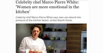 London's restaurant folk react to Marco Pierre White on women in kitchens