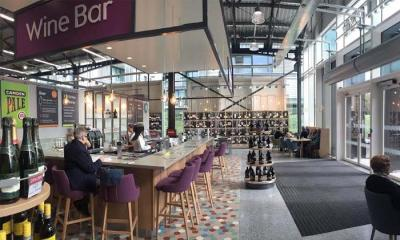 The new Waitrose in King's Cross comes with a wine bar attached