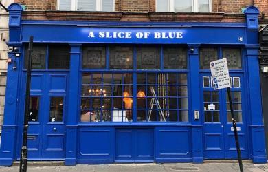 Santa Maria opens A Slice of Blue pizza pub in Clapton