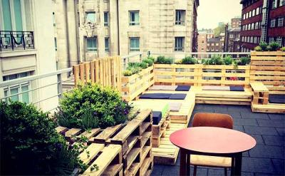 Roofnic rooftop bar opens for the summer off Oxford Street