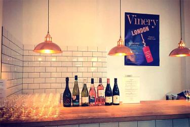 Vinery London is a pop up honesty wine bar where you pay what you think it's worth