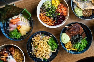 Flesh and Buns are launching the lunchtime Poke-Don mash-up