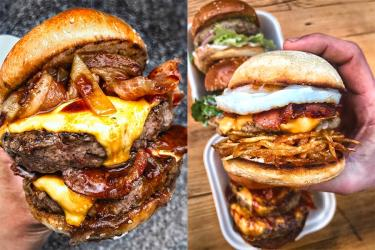 Mother Flipper are popping up with their burgers in Brockley for a month