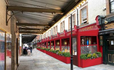 J.Sheekey is reopening with a weatherproofed year-round terrace