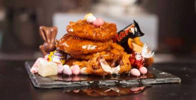 Head to Shoreditch for the Fry Hard deep-fried Easter pop-up