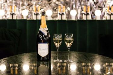 Selfridges' Christmas cabaret club features drinks by Bistrotheque and Nyetimber
