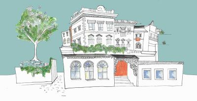 Belsize Park's newest pub is The Belrose, and they've got a south-facing beer garden