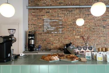 The Roasting Shed now have a roastery and cafe on Hornsey Road