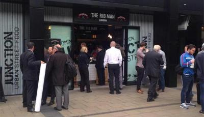 Euston station opens Junction with The Rib Man, Big Apple Hot Dogs and Beany Green