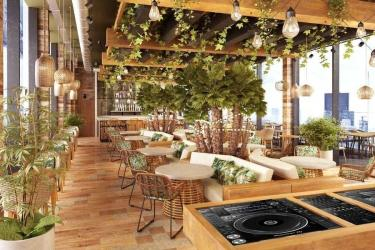 Treehouse London hotel by Broadcasting House will have Toca Madera - a Mexican restaurant with amazing views