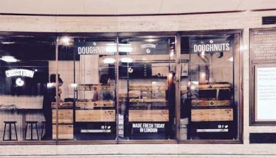 Crosstown Doughnuts open pop-up shop at Piccadilly Circus tube station