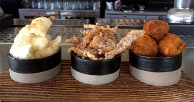 Truscott Arms launch the Pig Board bar snacks