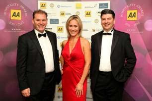 Galvin brothers pick up top chef's gong at AA Awards