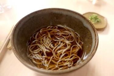 Modernist soba and sushi in Temple - we Test Drive Yen