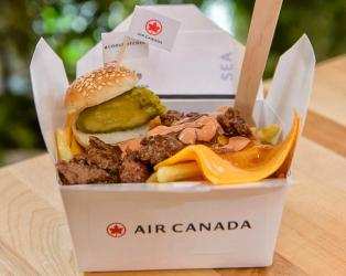 Chips, cheese and gravy galore - the Air Canada Poutinerie returns