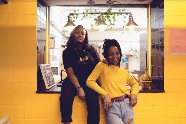 Kingston Kigali are serving up their Rwandan Jamaican vegan food to Peckham Levels