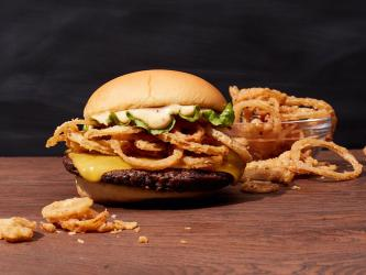 Shake Shack and Neil Rankin team up for a new vegan burger