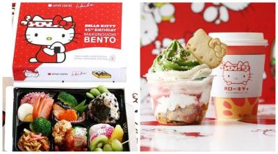 Japan Centre Ichiba is celebrating Hello Kitty's 45th birthday with a special popup