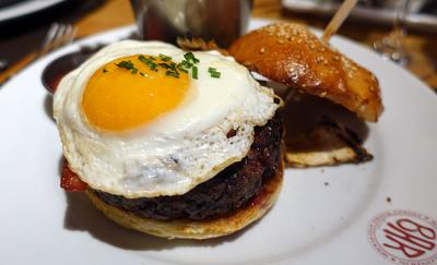Charcuterie, duck hash, celeb spotting and a great burger - Test Driving brunch at Bar Boulud