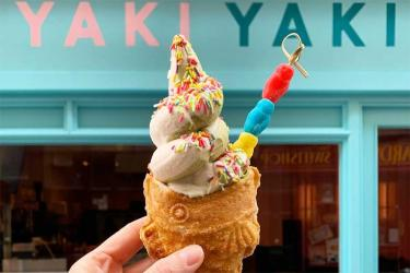 Yaki Yaki are serving up taiyaki, matcha soft serves and a croiyaki in Covent Garden