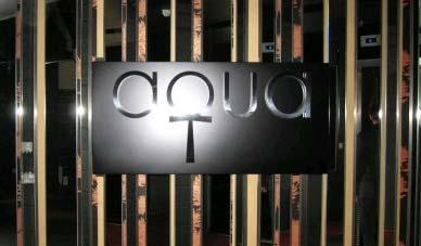 Aqua opening, influential restaurateurs and more news...