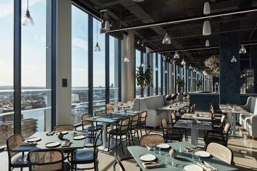 Mthr is the high-rise dining room for The Collective in Canary Wharf