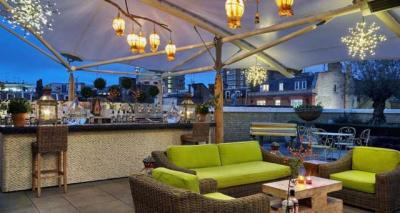 Swan on a Hot Gin Roof pop up launches at Ham Yard Hotel