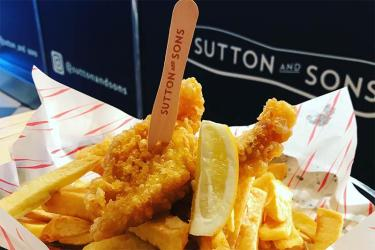 Sutton and Sons in Stoke Newington are launching a vegan fish and chips menu