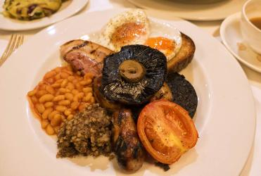 Test Driving the Guinea Grill's breakfast menu - all you could ever want from a cooked breakfast