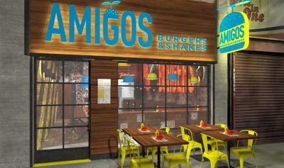 Amigos Burgers & Shakes brings halal burgers to Shepherd's Bush