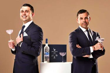 Grey Goose are selling a charity martini kit involving The Connaught Bar