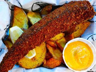 Hook brings fish and chips to Pop Brixton