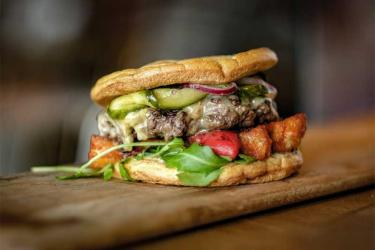 Cut and Grind launch London's first keto burger