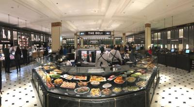 Harrods food hall revamp continues with the unveiling of the new Fresh Market Hall