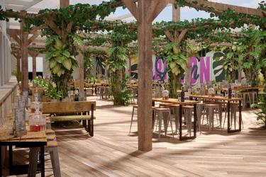Lost in Brixton is Brixton Village's new jungle-themed rooftop terrace