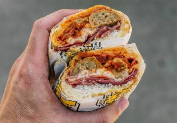 Which Wich sandwich shop is coming to London
