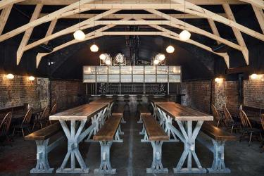 St John at Hackney Brewery brings beer and Cypriot food to Hackney Central Arches